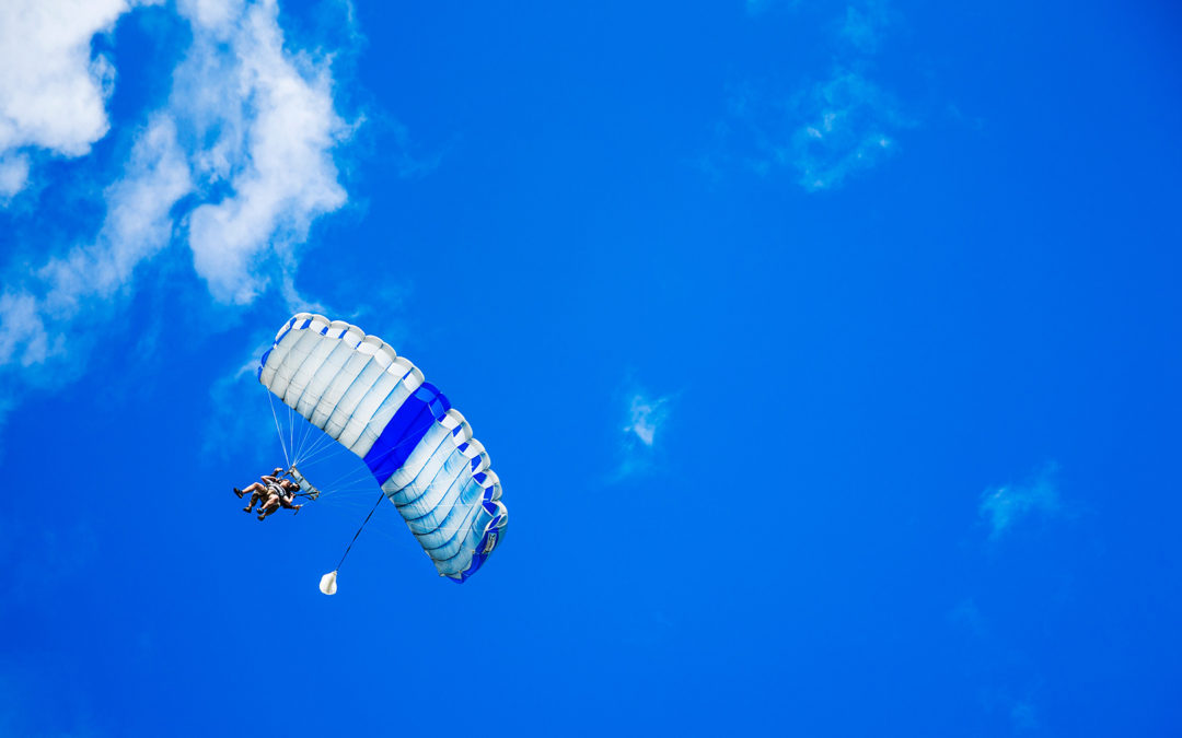 Financial Back Up Plan: When Viewed From 30,000 Feet, the Need for a Parachute and a Safe Landing Spot Becomes Obvious