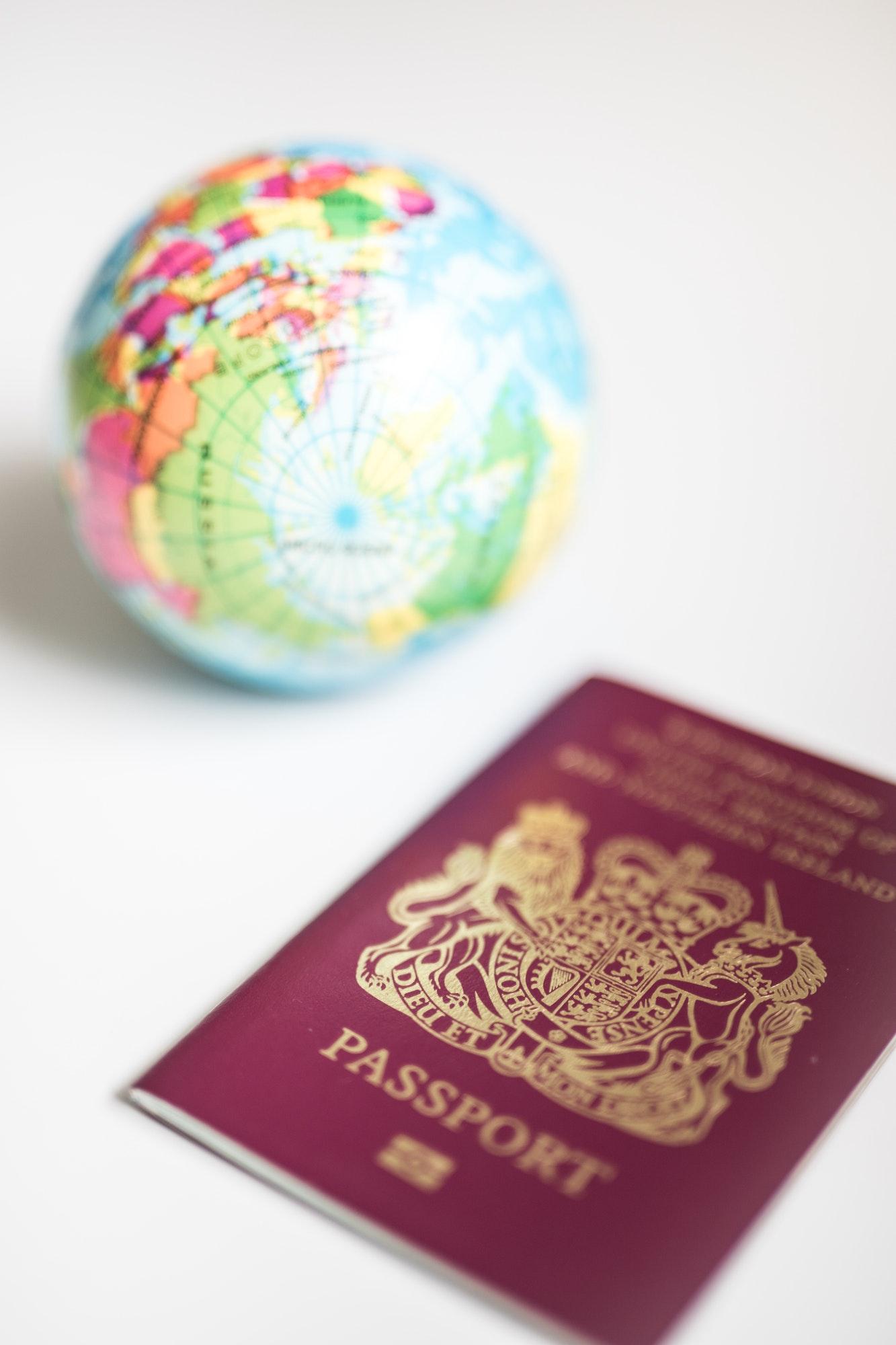how to get an EU passport - old UK Passport