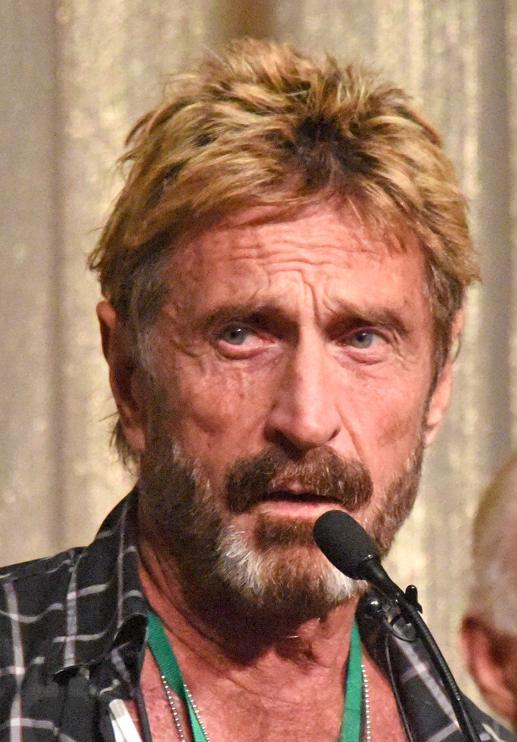 John McAfee speaking at Def Con in 2014