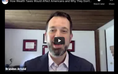 Webinar: How Wealth Taxes would Affect Americans and Why They Don't Work